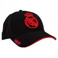 Pánska šiltovka REAL MADRID Black/Red 56cm