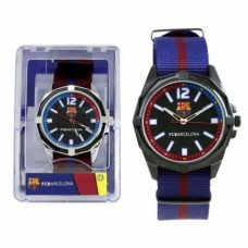 Pánske hodinky FC BARCELONA Bordové