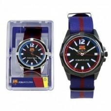 Pánske hodinky FC BARCELONA Modré