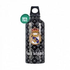 REAL MADRID ´BLACK OUTDOOR´ - ŠPORTOVÁ FĽAŠA aluminium (0707)