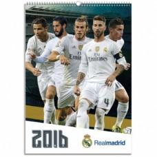 REAL MADRID - NÁSTENNÝ  KALENDÁR 2016 (0275)