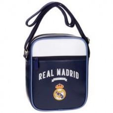 REAL MADRID ´PVC BLUE´ - ŠTÝLOVÁ TAŠKA CEZ PLECE / ORGANIZÉR  (6990)