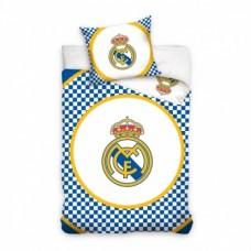 Obojstranné bavlnené obliečky REAL MADRID Round Crest (8108)