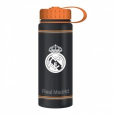 REAL MADRID ´BLACK/ORANGE´ - ŠPORTOVÁ FĽAšA 500ml (6718)