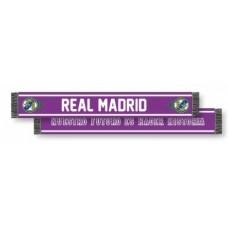 Šál pre fanúšikov REAL MADRID Violet Doble