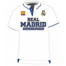 REAL MADRID ´WHITE POLO´ - PÁNSKE TRIČKO - M (medium)