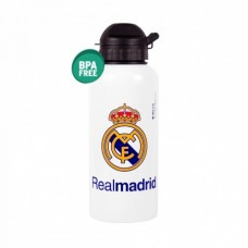 REAL MADRID ´WHITE´ - ŠPORTOVÁ FĽAŠA aluminium (0479)