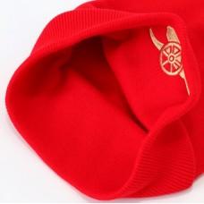 Štýlová zimná úpletová čiapka ARSENAL Red Cuff