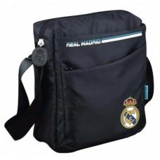 Taška cez rameno / organizér REAL MADRID Black Crest