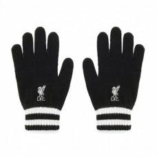 Úpletové rukavice FC LIVERPOOL Black (0558)