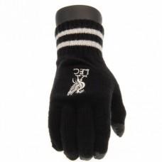 Úpletové rukavice FC LIVERPOOL Black