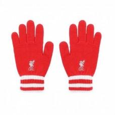 Úpletové rukavice FC LIVERPOOL Red (0565)